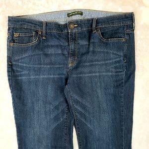 """Eddie Bauer straight leg Jeans size 16  32"""" inseam"""